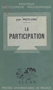 Jean Przyluski et Emile Bréhier - La participation.