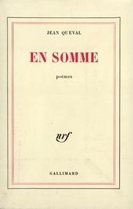 Jean Queval - En somme.