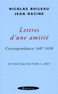 Jean Racine et Nicolas Boileau - .