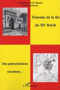 Galabria.be Témoins de la fin du IIIe Reich - Des polytechniciens racontent Image