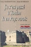 Jean Rambaud et Tony Marmottans - Ça s'est passé à Toulon et en pays varois (1).