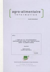 Jean Raux - L'emploi du rayonnement infrarouge dans les industries agro-alimentaires.