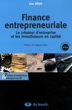 Jean Rédis - Finance entrepreneuriale - Le créateur d'entreprise et les investisseurs en capital.