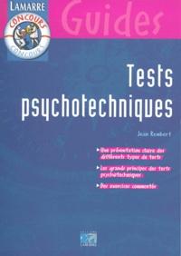 Jean Rembert - Tests psychotechniques.
