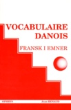 Jean Renaud - Fransk i emner - Vocabulaire danois.
