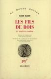 Jean Renaud et Karen Blixen - Les fils de rois.