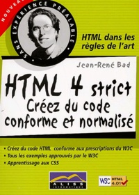 HTML 4 strict. Créez du code conforme et normalisé.pdf