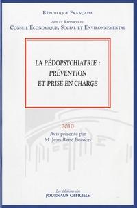 Jean-René Buisson - La pédopsychiatrie : prévention et prise en charge.