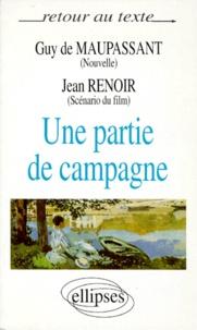 """Jean Renoir et Guy de Maupassant - """"Une partie de campagne""""."""