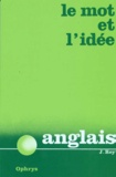 Jean Rey - Le Mot et l'idée - Anglais.
