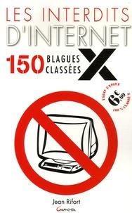 Histoiresdenlire.be Les interdits d'Internet - 150 blagues classées X Image