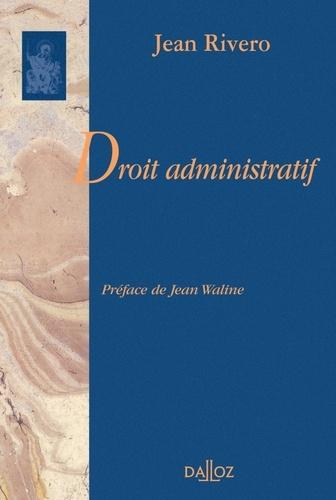 Jean Rivero - Droit administratif.