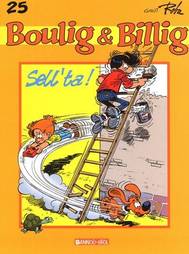 Jean Roba - Boulig & Billig Tome 25 : Sell'ta !.