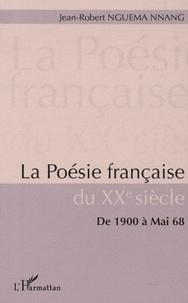 Blackclover.fr La poésie française du XXe siècle - De 1900 à Mai 68 Image