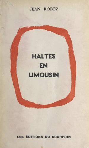 Haltes en Limousin