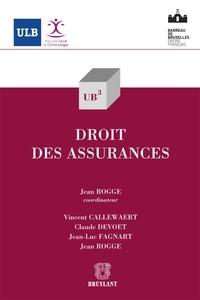 Jean Rogge - Droit des assurances.