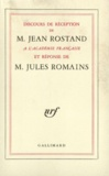 Jean Rostand et Jules Romains - .