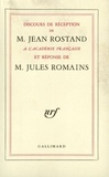 Jean Rostand et Jules Romains - .