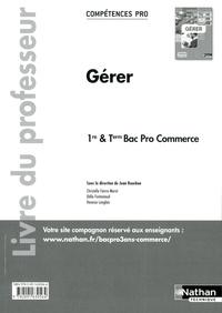 Feriasdhiver.fr Gérer 1re & Tle Bac Pro commerce - Livre du professeur Image