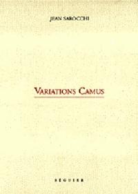 Jean Sarocchi - Variations Camus.