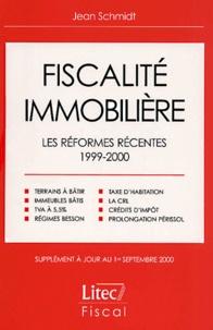 Corridashivernales.be Fiscalité immobilière. Les réformes récentes 1999-2000 Image