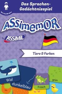 Jean-Sébastien Deheeger et  Céladon - Assimemor - Meine ersten Wörter auf Deutsch: Tiere und Farben.