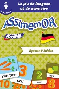 Jean-Sébastien Deheeger et  Céladon - Assimemor – Mes premiers mots allemands : Speisen und Zahlen.