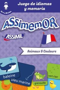 Jean-Sébastien Deheeger et  Céladon - Assimemor - Mis primeras palabras en francés: Animaux et couleurs.