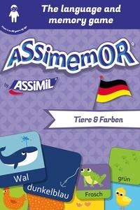 Jean-Sébastien Deheeger et  Céladon - Assimemor – My First German Words: Tiere und Farben.