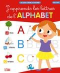 Jean-Sébastien Deheeger - J'apprends les lettres de l'alphabet - Couverture rouge.