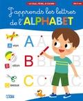Jean-Sébastien Deheeger - J'apprends les lettres de l'alphabet - Couverture bleue.