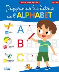 Manuels en ligne à télécharger gratuitement J'apprends les lettres de l'alphabet  - Couverture bleue