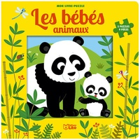 Jean-Sébastien Deheeger - Les bébés animaux - 5 puzzles 9 pièces.