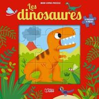 Jean-Sébastien Deheeger - Les dinosaures - 5 puzzles 9 pièces.