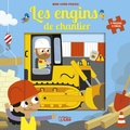 Jean-Sébastien Deheeger - Les engins de chantier - 5 puzzles 9 pièces.