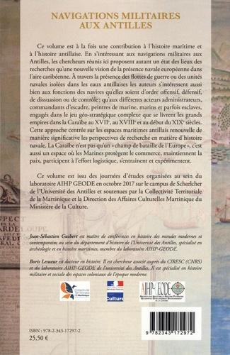 Navigations militaires aux Antilles (1620-1820)