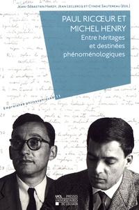 Deedr.fr Paul Ricoeur et Michel Henry - Entre héritages et destinées phénoménologiques Image