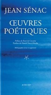 Jean Sénac - Oeuvres poétiques.