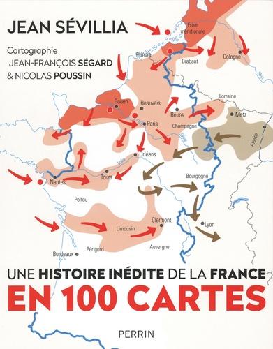 L'histoire inédite de la France en 100 cartes