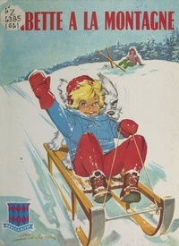 Jean Sidobre - Babette à la montagne.