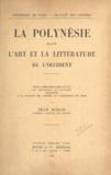 Jean Simon - La Polynésie dans l'art et la littérature de l'Occident - Thèse complémentaire en vue du doctorat ès Lettres à la Faculté des Lettres de l'Université de Paris.