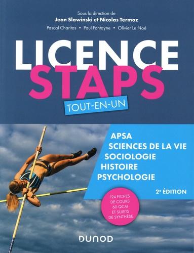 Licence STAPS Tout-en-Un. APSA, Science de la vie, Sociologie, Histoire, Psychologie 2e édition