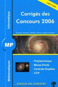 Jean Starynkévitch et Alexandre Hérault - MP Mathématiques et Informatique - Corrigés des concours.