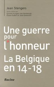 Histoiresdenlire.be Une guerre pour l'honneur - La Belgique en 14-18 Image