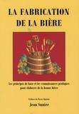 Jean Sunier - La fabrication de la bière.