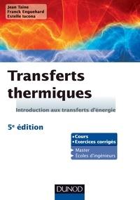 Deedr.fr Transferts thermiques - Introduction aux transferts d'énergie : cours et exercices d'application Image