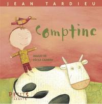 Jean Tardieu et Cécile Gambini - Comptine.