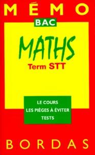 Jean Terreran et Richard Dalin - Maths, term STT - Programme 1994.