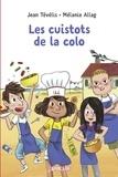 Mélanie Allag et  Jean Tévélis - Les cuistots de la colo.