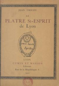 Jean Tricou - Le plâtre St-Esprit de Lyon.